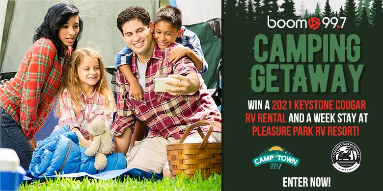 boom 99.7's Camping Getaway