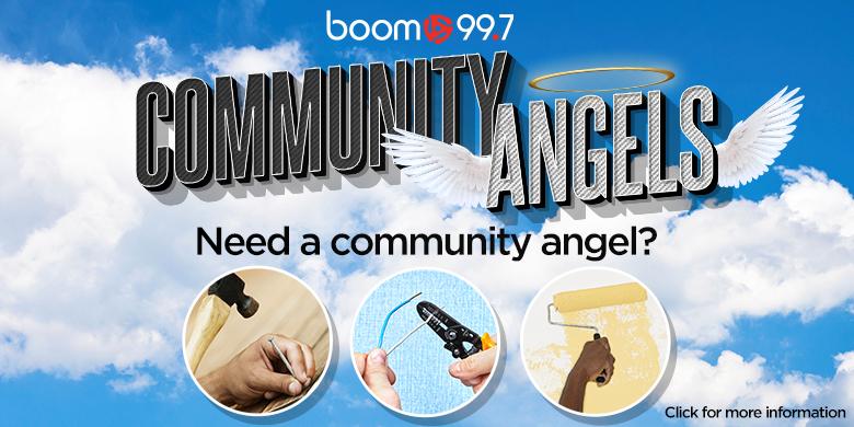 boom 99.7's Community Angels