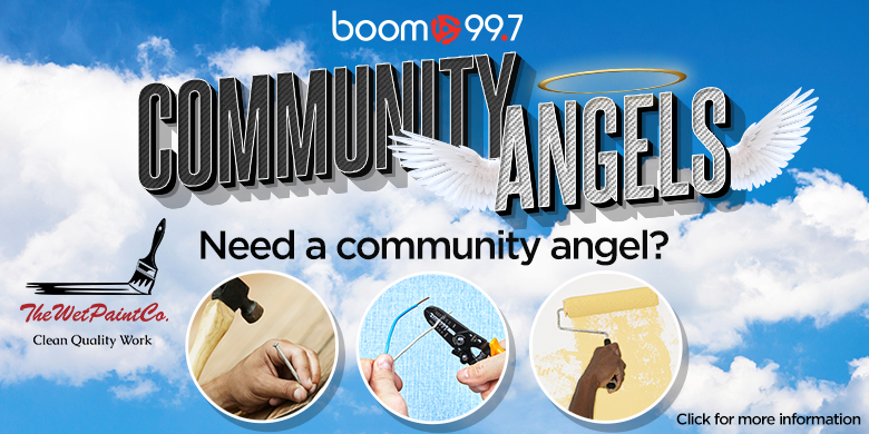boom 99.7's Community Angels