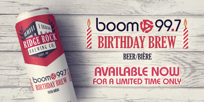 boom 99.7's Birthday Brew